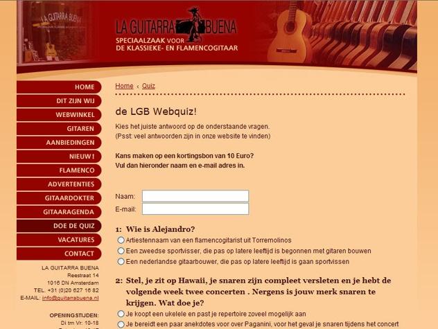 Quiz La Guitarra Buena