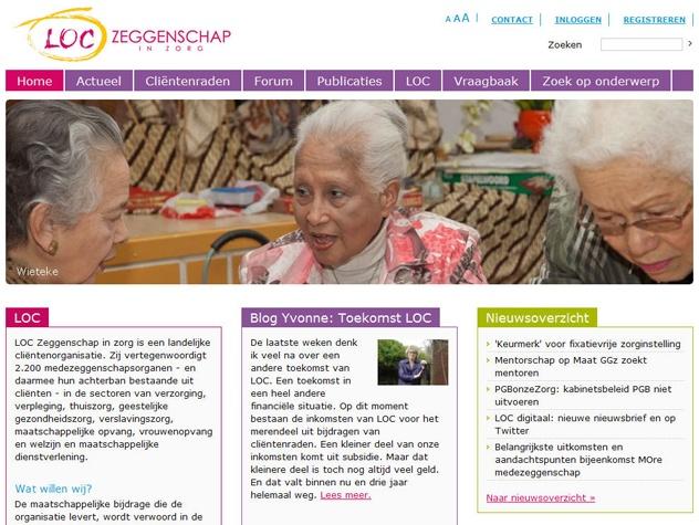 Homepage LOC