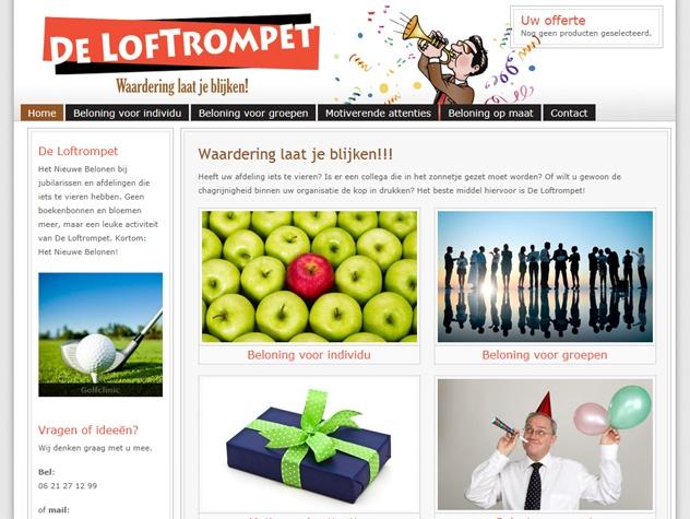 Homepage De Loftrompet
