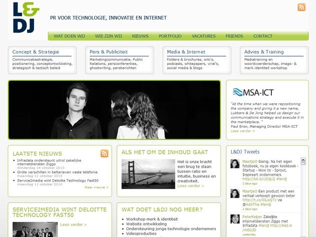 Homepage Lubbers en de Jong