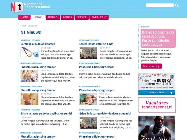 Nederlands tandartsenblad nieuws