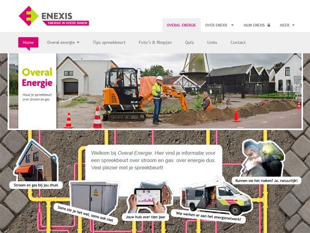 Overal energie homepage