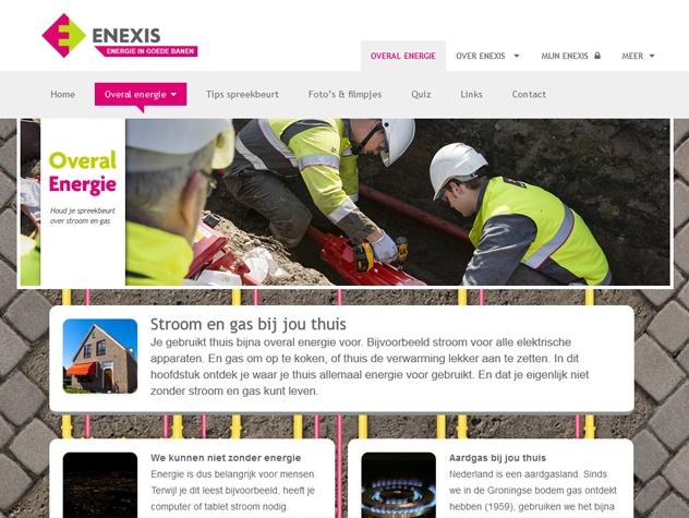 Overal energie informatiepagina