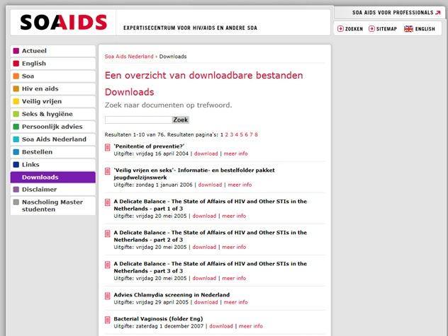 Downloads Soaaids.nl