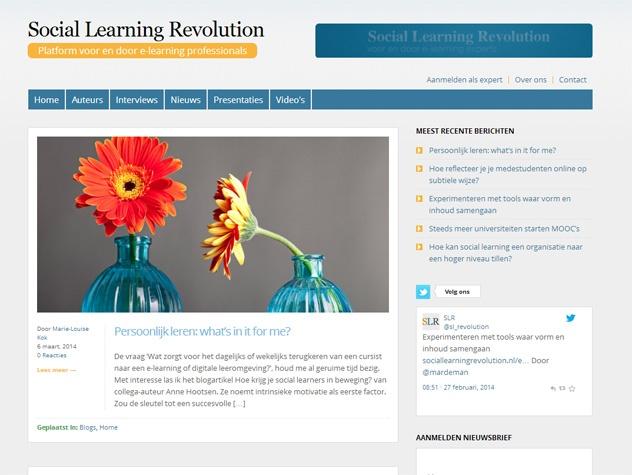 Social learning revolution homepage