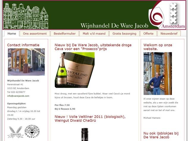Homepage De Ware Jacob