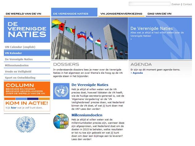 Dossiers Wereld van de VN