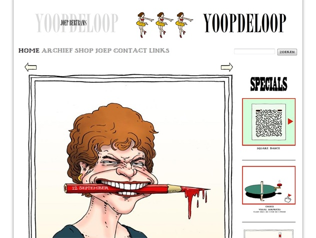 Homepage Yoop de loop