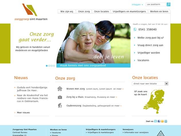 Homepage Zorggroep Sint Maarten