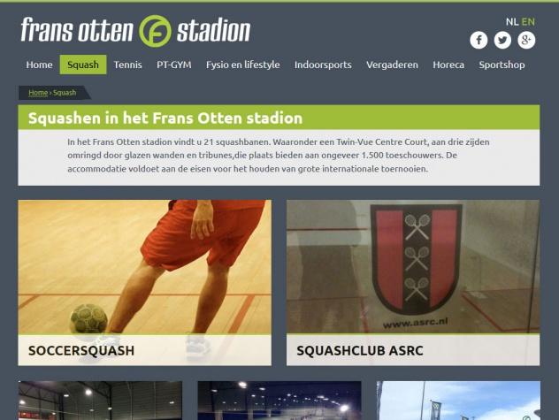 Frans Otten stadion squash
