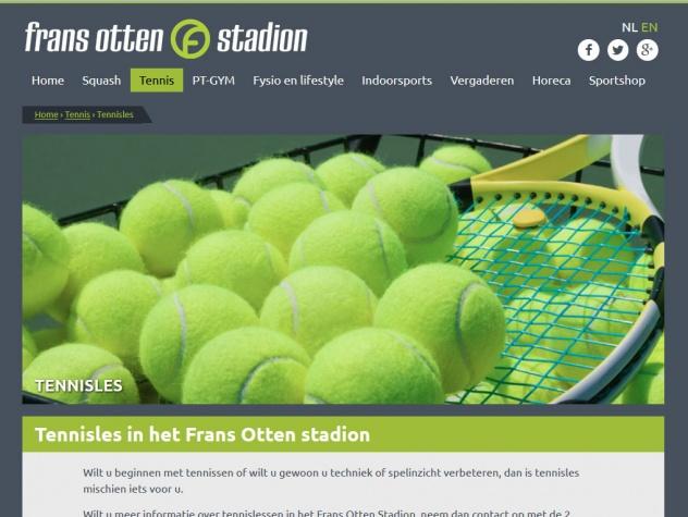 Frans Otten stadion tennis