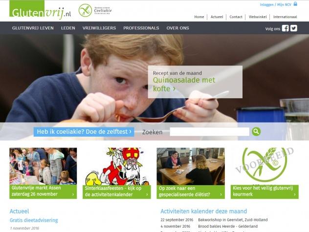 Glutenvrij Homepage