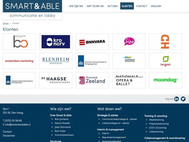 Smart&Able klanten
