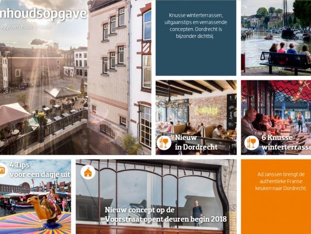 Dordrecht Marketing inhoudsopgave