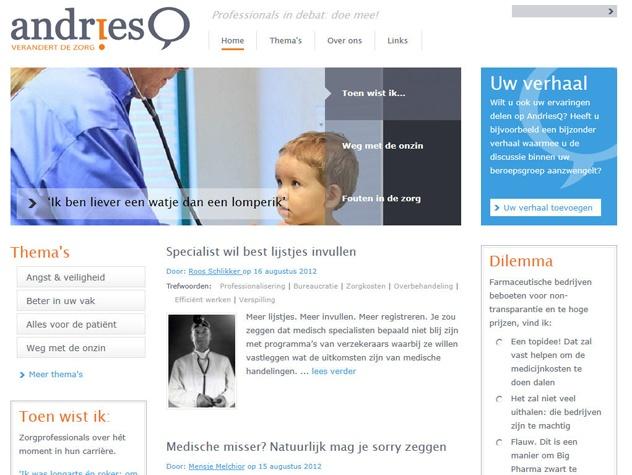 Homepage AndriesQ