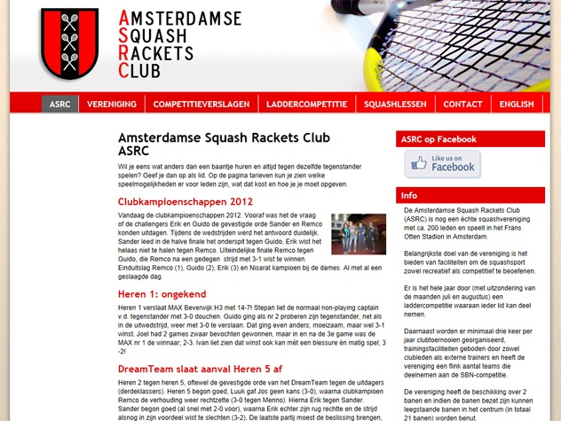 ASRC homepage