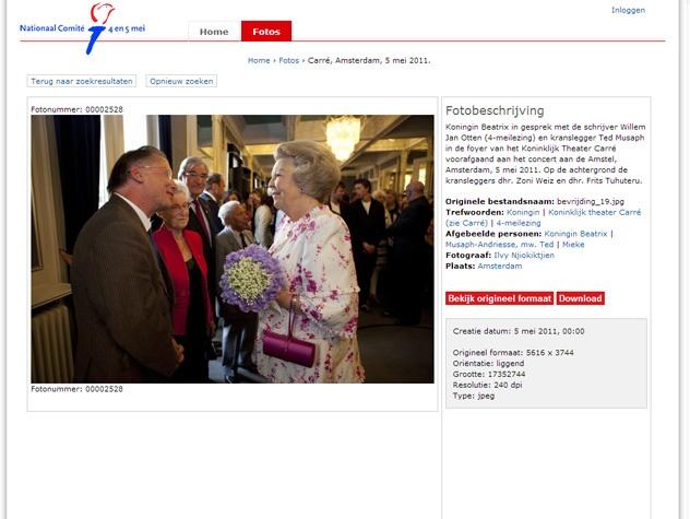 Fotopagina beeldbank 4 en 5 mei