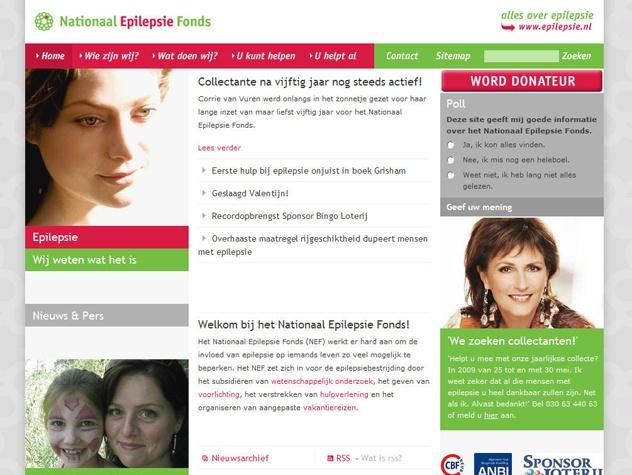 Homepage Epilepsiefonds