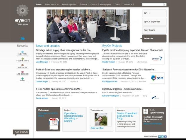 Homepage Eyeon