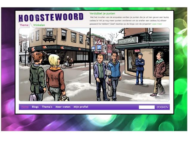 Homepage Hoogstewoord