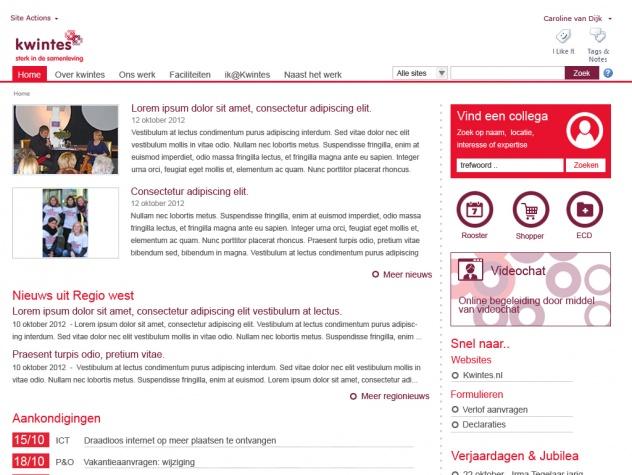 Kwintes homepage