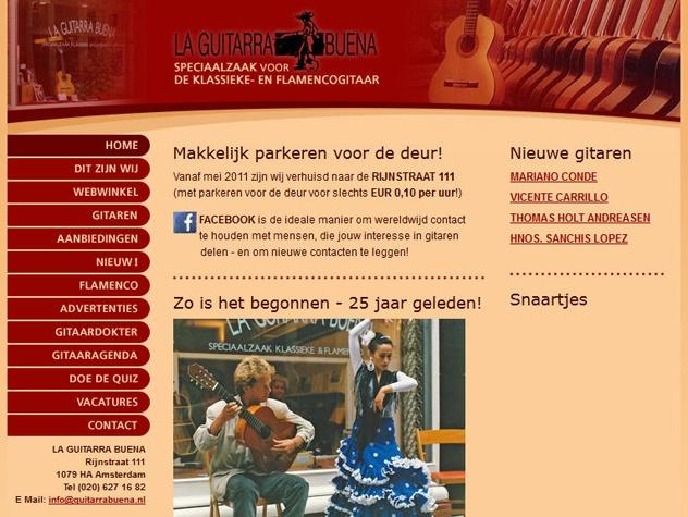 Homepage La Guitarra Buena