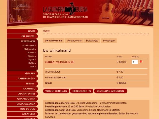 Winkelmand La Guitarra Buena