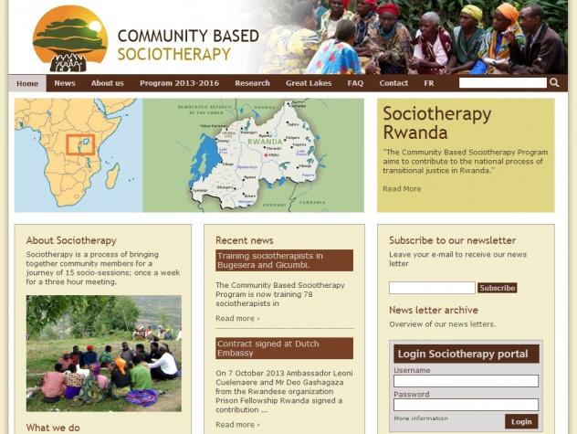 Homepage Sociotherapy Rwanda