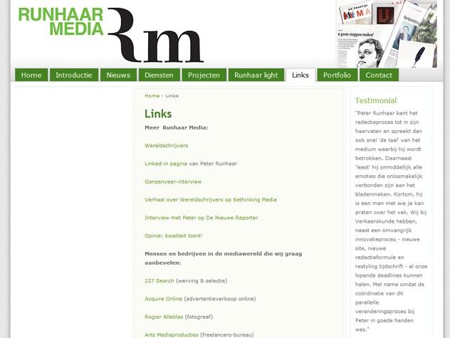 Links Runhaar media