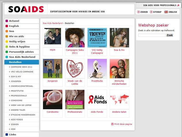 Bestellen op Soaaids.nl