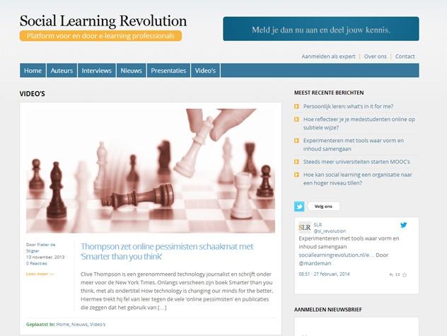 Social learning revolution video