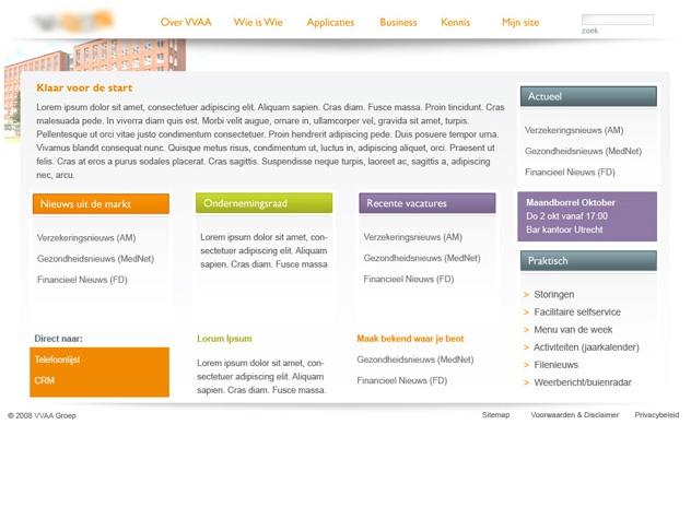 Homepage VVAA