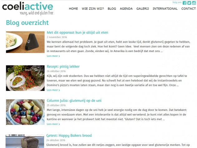 Coeliactive Blog