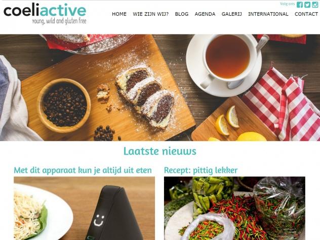 Coeliactive homepage