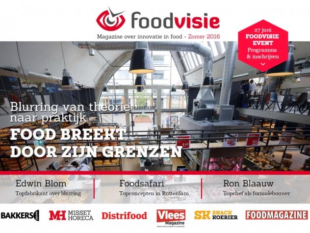 Foodvisie magazine cover