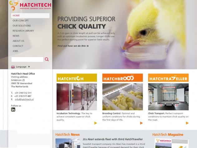 Hatchtech homepage