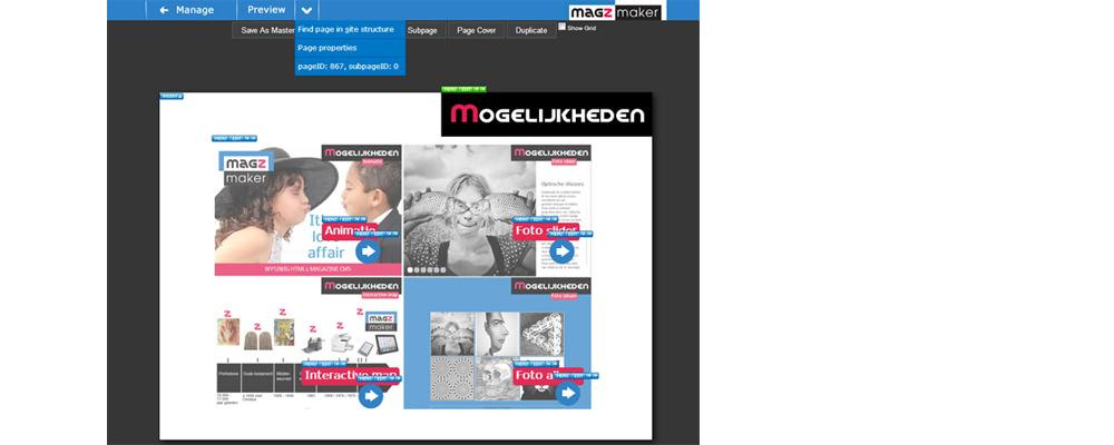 Magzmaker - the HTML5 magazine CMS - in betatest