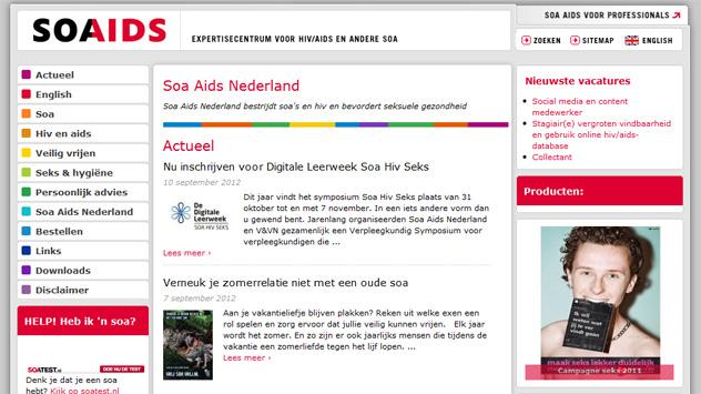 SoaAids.nl over naar Xsite3