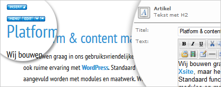 Platform & content management
